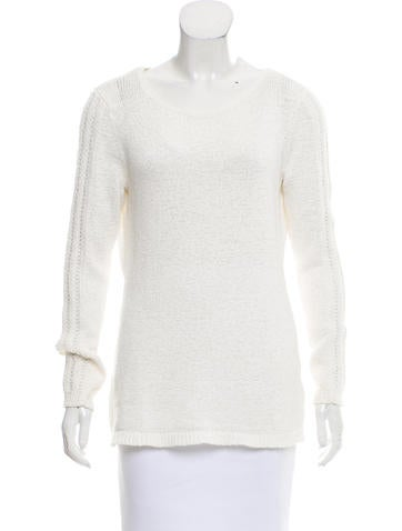 Rachel Zoe Crew Neck Long Sleeve Sweater None