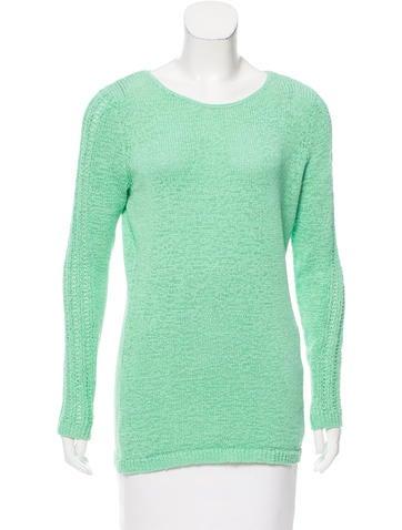 Rachel Zoe Crew Neck Long Sleeve Sweater None