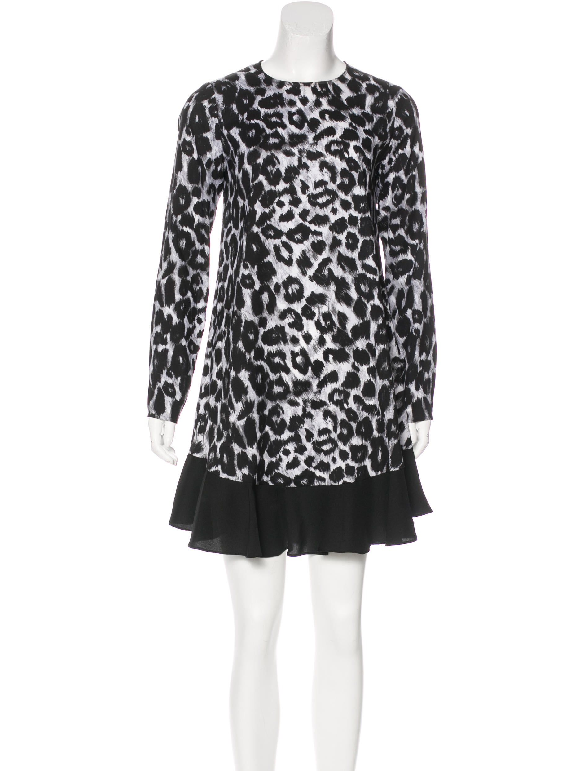 a963da0deae5 Rachel Zoe Animal Print Mini Dress - Clothing - WRL29516 | The RealReal