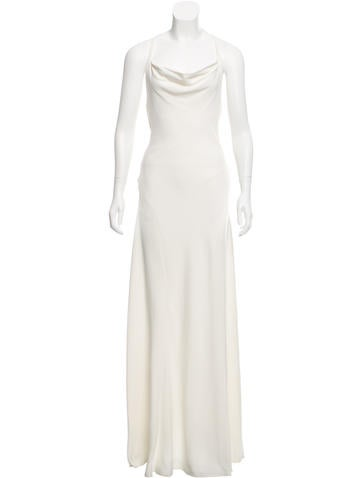 Rachel Zoe T-Back Evening Dress None