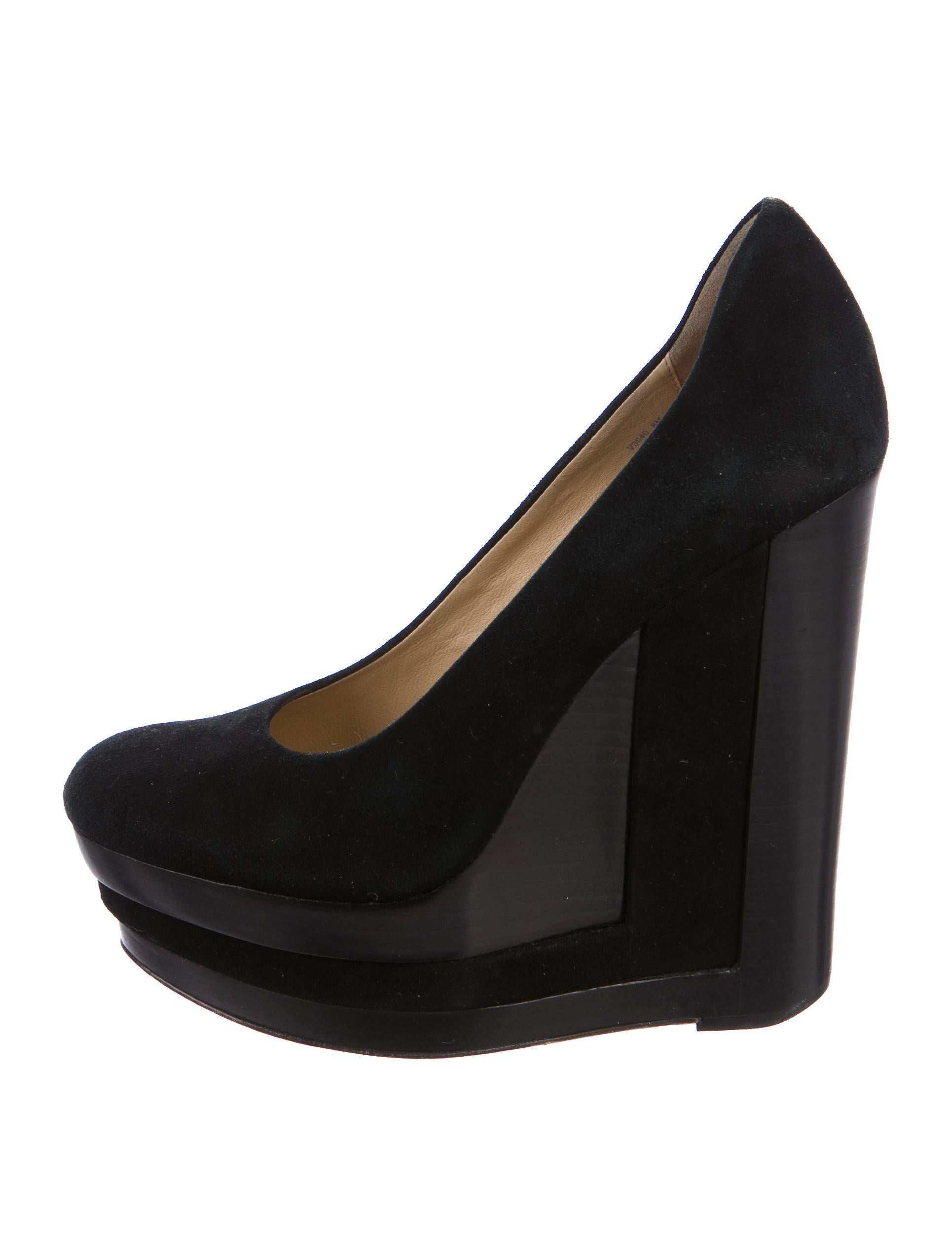 Rachel Zoe Suede Wedged Pumps cheap many kinds of cheapest price sale footaction cheap sale finishline iJT2rZt