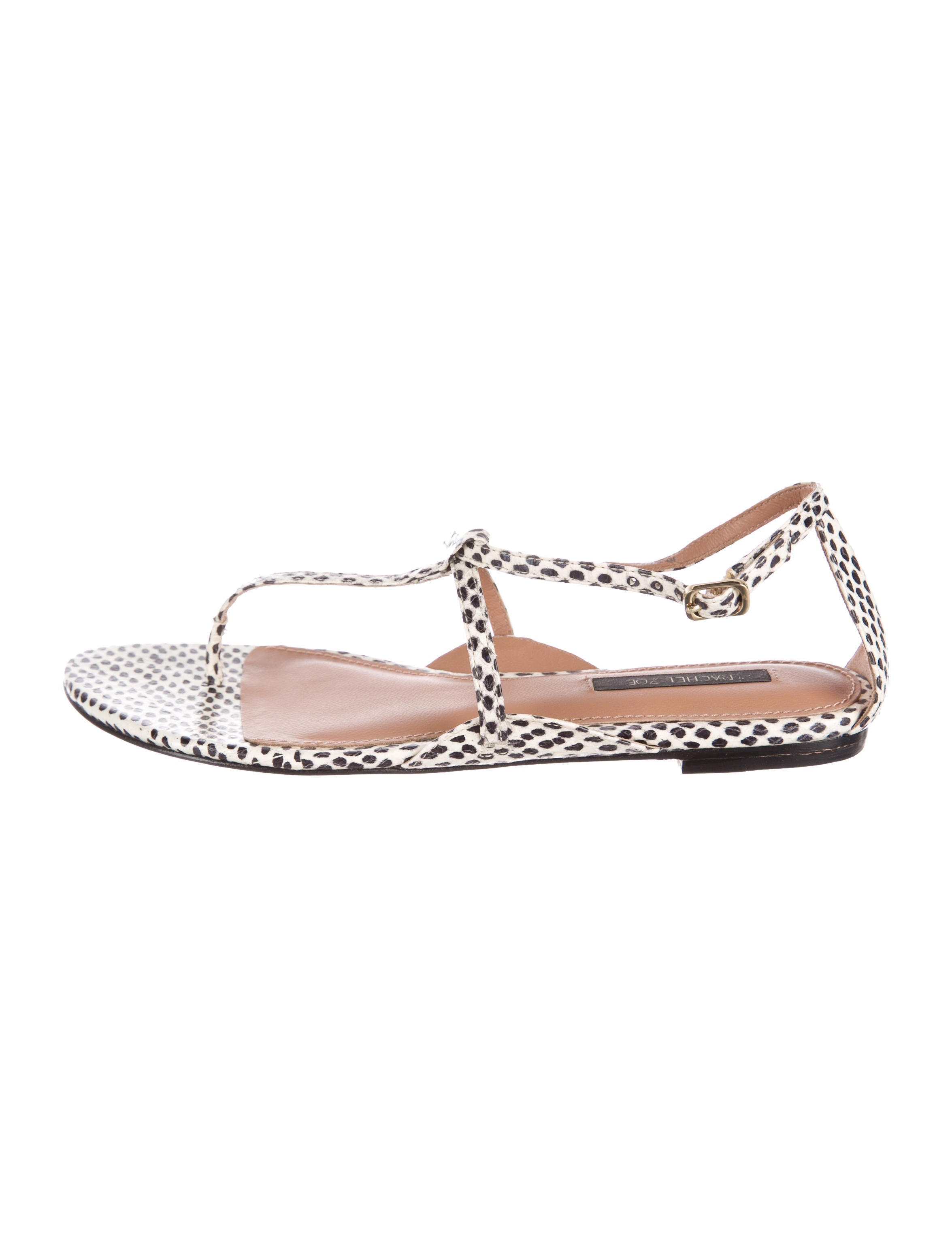e5f804429 Rachel Zoe Gwen Snakeskin Sandals w  Tags - Shoes - WRL30694