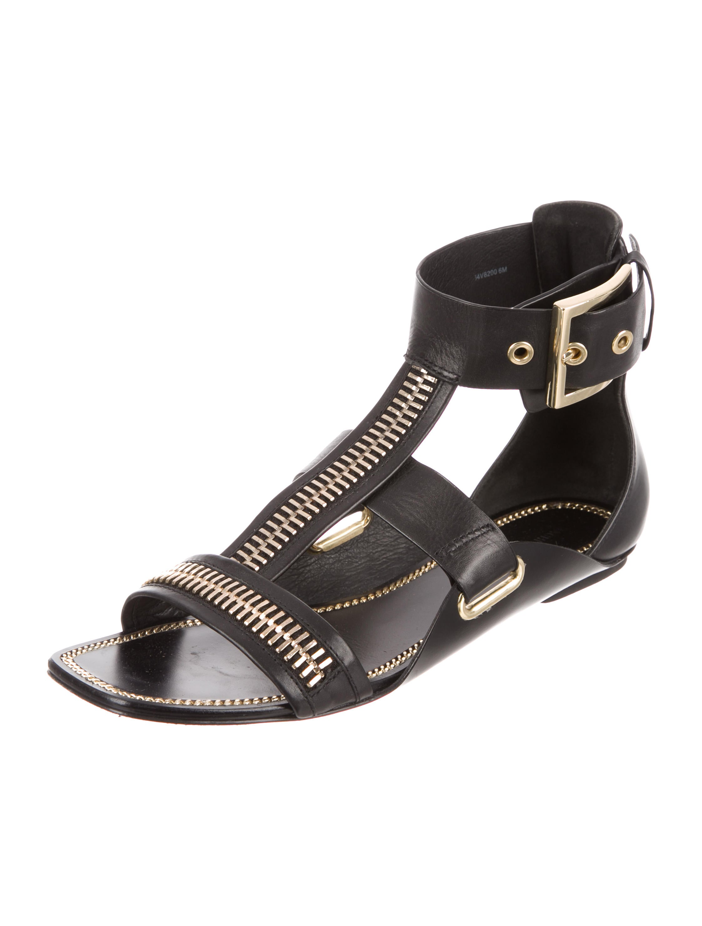 Rachel Zoe Inigo Leather Sandals visit new for sale rTZpw