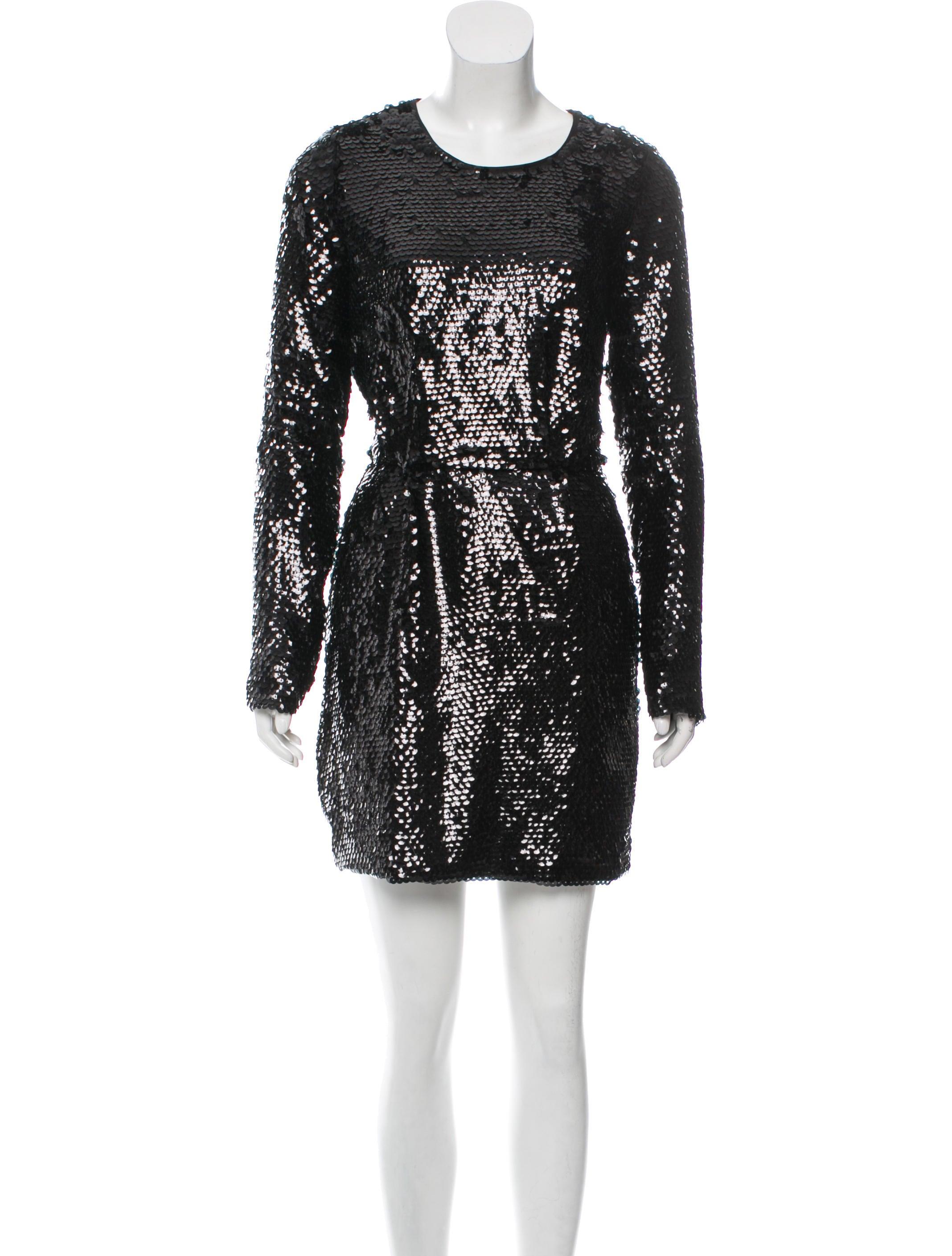 3d575e3efd8a Rachel Zoe Sequin Mini Dress - Clothing - WRL34100   The RealReal