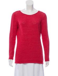 ab408994a6c6b8 Rachel Zoe. Crocheted Bateau Sweater