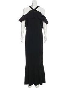 4c6db7fd132 Rachel Zoe. Sleeveless Maxi Evening Dress