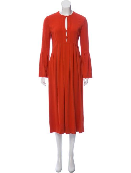 Crew Neck Midi Length Dress by Rachel Zoe