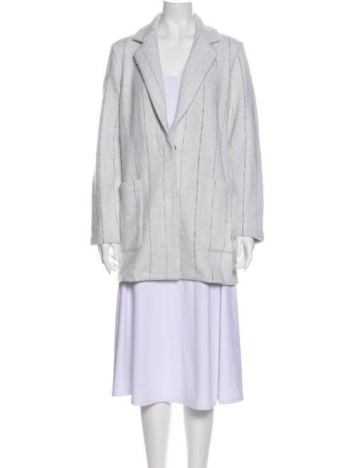 Rachel Zoe Striped Coat