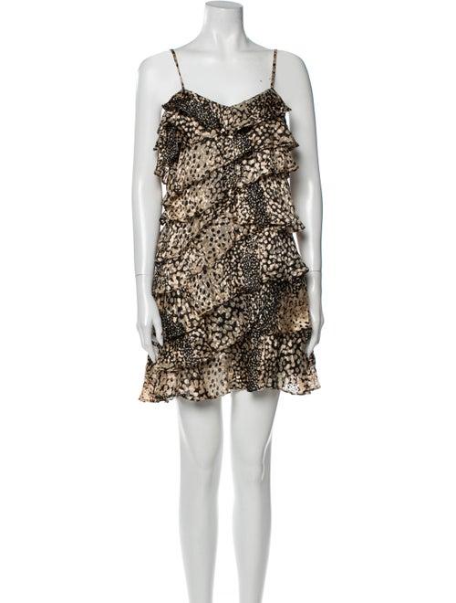 Rachel Zoe Printed Mini Dress