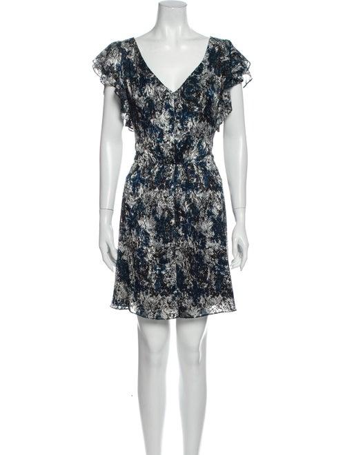 Rachel Zoe 2019 Mini Dress Blue
