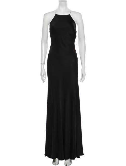 Rachel Zoe Square Neckline Long Dress w/ Tags Blac