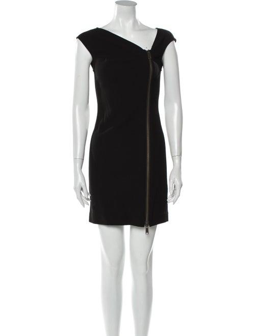 Rachel Zoe Wool Mini Dress Wool