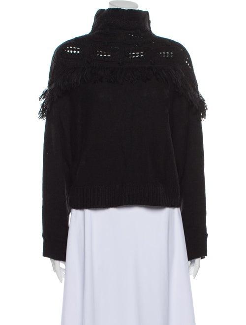 Rachel Zoe Turtleneck Sweater Black
