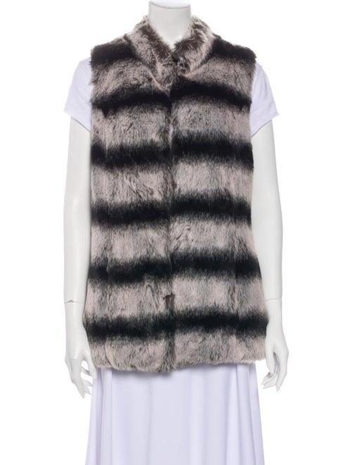 Rachel Zoe Striped Vest