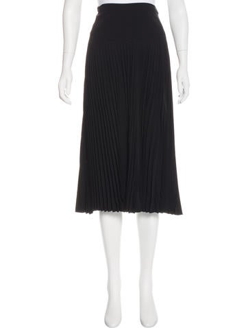 Ralph Lauren Black Label Pleated Wool Skirt w/ Tags None