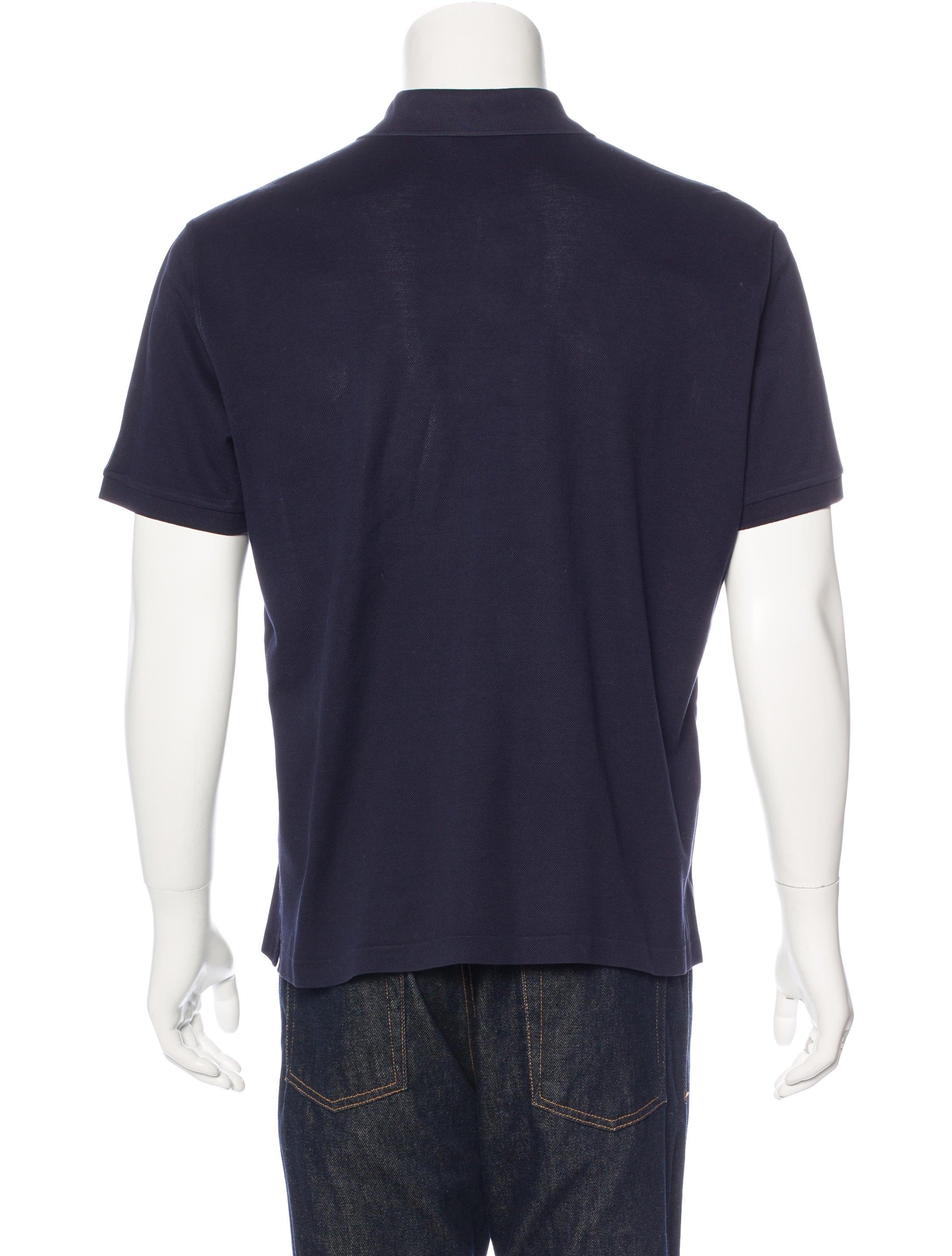 Ralph lauren purple label piqu polo shirt clothing for Ralph lauren black label polo shirt