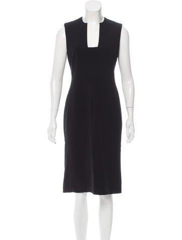 Ralph Lauren Black Label Wool Sheath Dress None