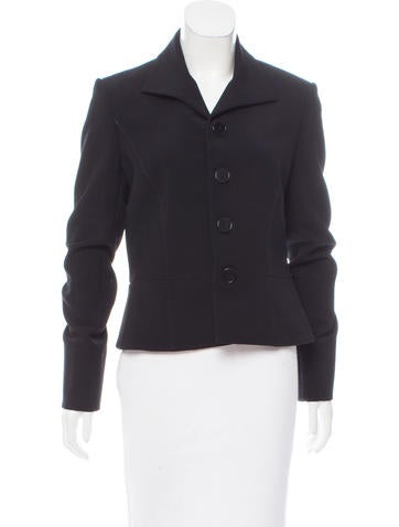 Ralph Lauren Black Label Wool Pointed Collar Jacket None
