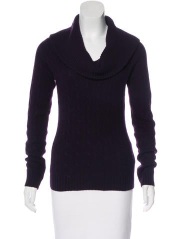 Ralph Lauren Black Label Cashmere Long Sleeve Sweater w/ Tags None