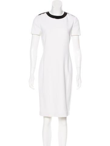 Ralph Lauren Black Label Wool Knee-Length Dress w/ Tags None