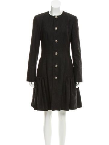 Ralph Lauren Black Label Wool Dress Coat w/ Tags None
