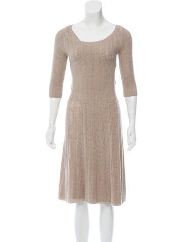 Ralph Lauren Black Label Cashmere Sweater Dress w/ Tags None