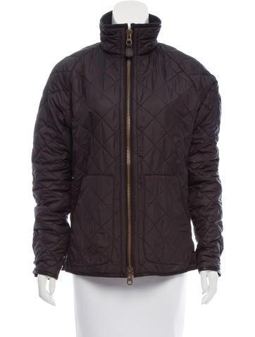 Ralph Lauren Black Label Quilted Zip Front Jacket None