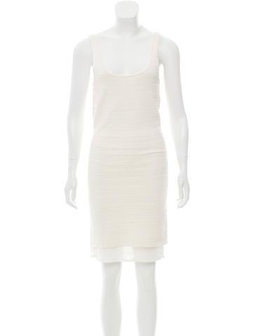 Ralph Lauren Black Label Stretch Knit Mini Dress None