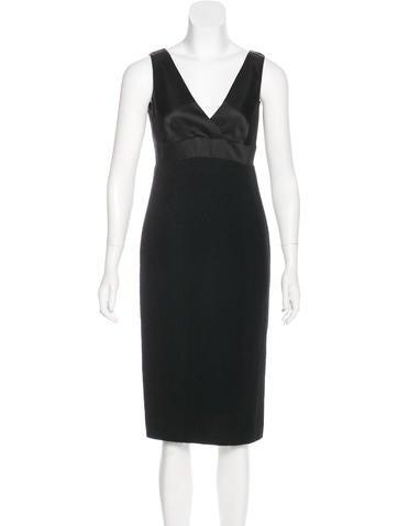 Ralph Lauren Black Label Wool Midi Dress w/ Tags None