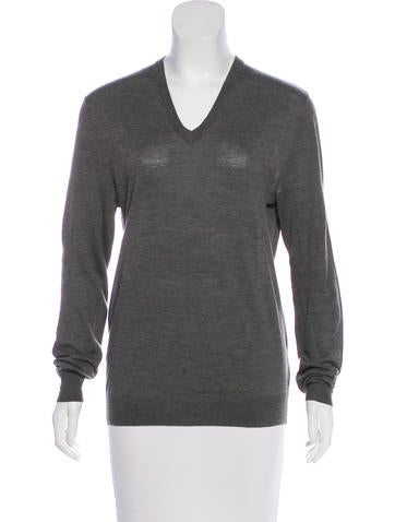Ralph Lauren Black Label Wool V-Neck Sweater None