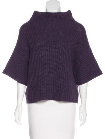 Ralph Lauren Black Label Wool & Cashmere-Blend Knit Sweater None