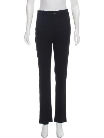 Ralph Lauren Black Label High-Rise Wool Pants None