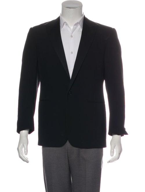 Ralph Lauren Black Label Wool Tuxedo Jacket black