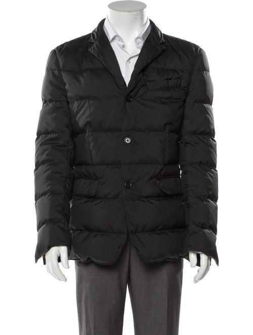 Ralph Lauren Black Label Puffer Coat Black