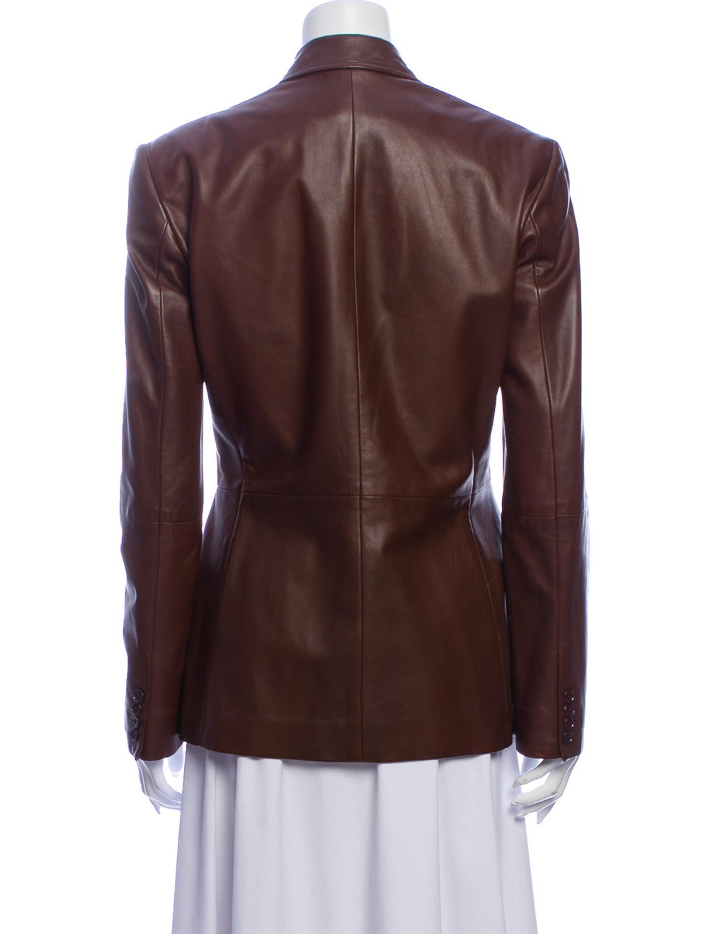 Ralph Lauren Black Label Vintage Leather Blazer B… - image 3