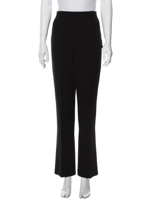 Ralph Lauren Black Label Wool Flared Pants Black