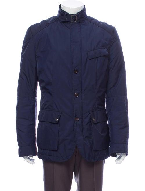Ralph Lauren Black Label Zip-Up Jacket navy