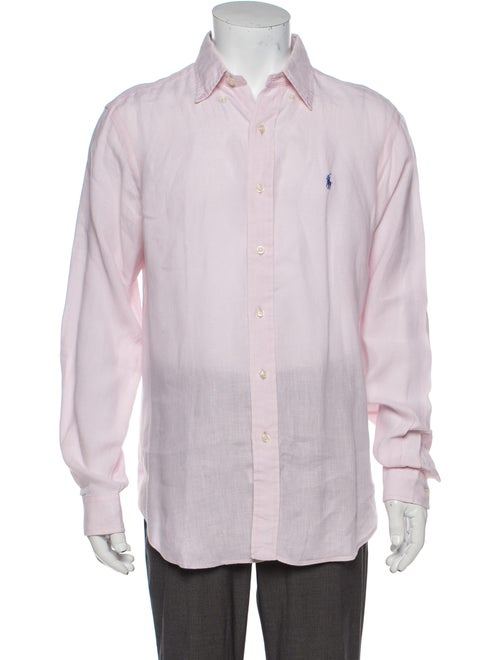 Ralph Lauren Black Label Linen Long Sleeve Dress S