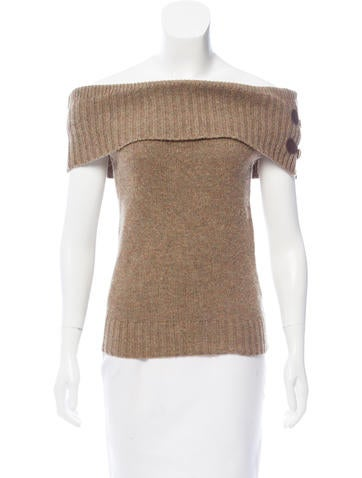 Ralph Lauren Rugby Knit Cowl Neck Top None