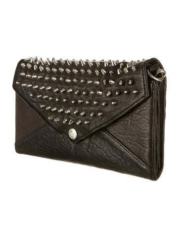 Studded Wallet on a Chain Bag