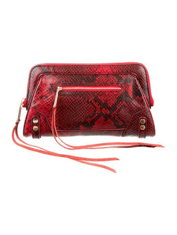 Embossed Clutch