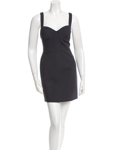 Rebecca Minkoff Sweetheart Neck Mini Dress