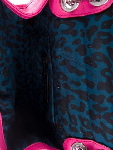 Studded Quilted Leather Shoulder Bag