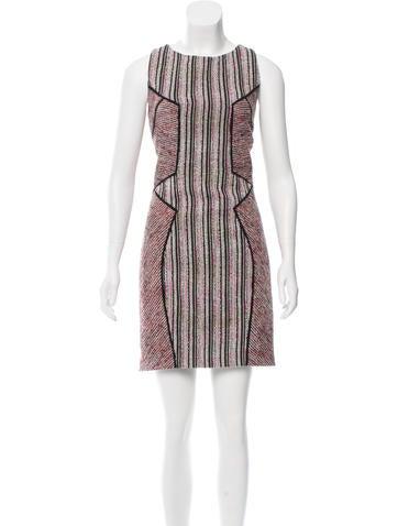 Rebecca Minkoff Sleeveless Tweed Dress None