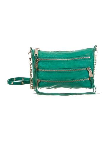 Rebecca Minkoff 3-Zip Crossbody Bag