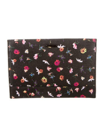 Floral Leo Clutch