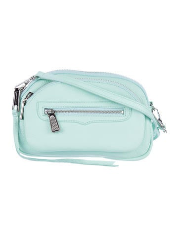 Rebecca Minkoff Grained Leather Crossbody Bag