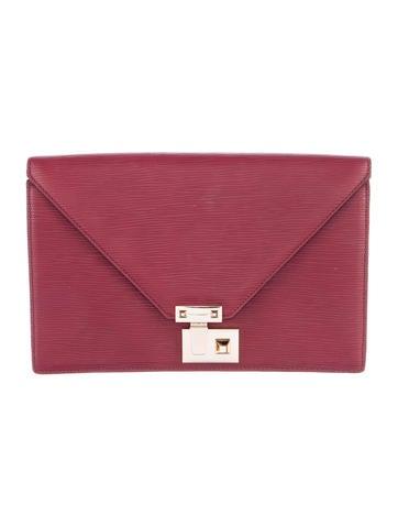 Rebecca Minkoff Leather Paris Clutch