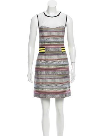 Rebecca Minkoff Sleeveless Mini Dress None