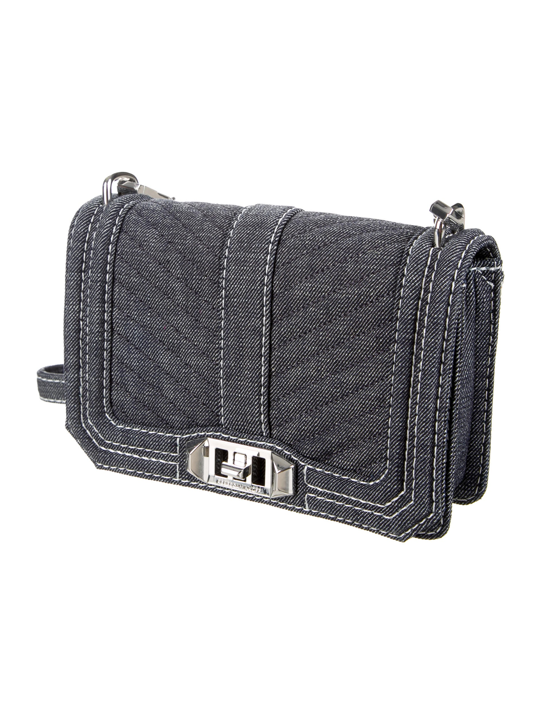 Rebecca Minkoff Denim Love Crossbody Bag Handbags